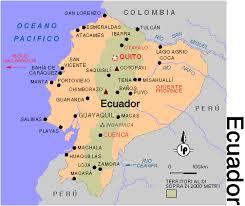 Ecuador mappa