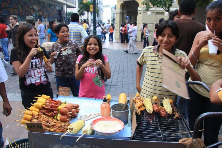 Guayaquil street food