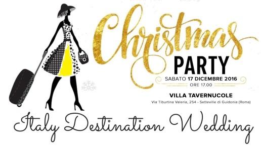 cartolina Christmas Party Italy Destination Wedding